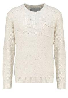 Quiksilver NEWCHESTER Strickpullover beige Bekleidung bei Zalando.de | Material Oberstoff: 55% Baumwolle, 30% Polyacryl, 15% Wolle | Bekleidung jetzt versandkostenfrei bei Zalando.de bestellen!