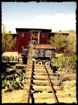 Goldfield Ghost Town, just east of Mesa, Arizona. Photo by Holly Tierney-Bedord.