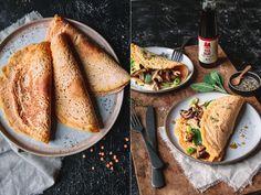 Vegan Recipes, Vegan Food, Avocado, Ethnic Recipes, Drinks, Savory Pancakes, Fried Mushrooms, Red Lentil Recipes, Vietnamese Cuisine