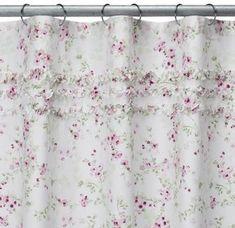 Simply Shabby ChicR Cherry Blossom Shower Curtain