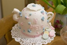 Image result for teapot cake cupcake stand