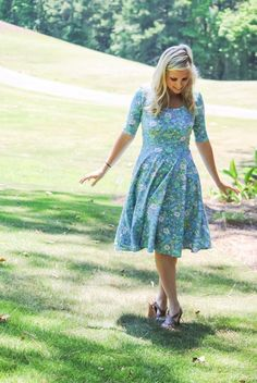 Nicole Dress by LuLaRoe  Available in many prints/patterns, and solids. Sizes XXS-3XL.  Facebook.com/groups/Whimsyboutique  PC: Rachel Parker Model: Katelyn Cummings