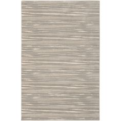 Shop allen + roth Crawburg Rectangular Cream Stripe Woven Area Rug (Common: 10-ft x 13-ft; Actual: 9-ft 10-in x 12-ft 9-in) at Lowes.com