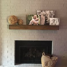 Farmhouse fireplace mantel modern fireplace mantel shelf floating wood mantel for sale modern fireplace mantel shelf . Modern Mantle, Farmhouse Fireplace Mantels, Wood Mantels, Rustic Fireplaces, Fireplace Mantle, Fireplace Design, Modern Rustic, Modern Decor, Distressed Fireplace