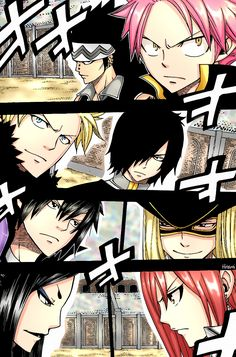 Natsu & Gajeel vs. Sting & Rogue, Gray vs. Rufus, and Minerva vs. Erza | Fairy Tail