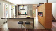 Architecture au féminin dans la cuisine