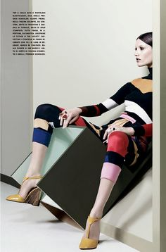 Vogue Italy July 2014 | Josephine Le Tutour, Ine Neefs + More by Craig McDean [