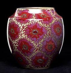 Zsolnay szegfűs váza