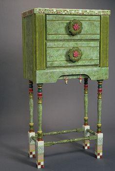 Mosaic Furniture & Garden Art – Plum Art Mosaics – Mosaic Artist – Sharon Plummer – Houston, Texas | Mosaic Art Source