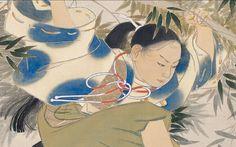 """""""Kumawakamaru"""" (1907). Kobayashi Kokei."""