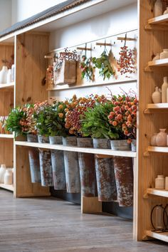 Fall at Magnolia Market: 2019 Flower Shop Decor, Flower Shop Design, Casa Magnolia, Magnolia Market, Magnolia Farms, Flower Truck, Flower Bar, Deco Cafe, Flower Shop Interiors