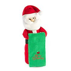Christmas Plush Doll Towel Holders at Big Lots.