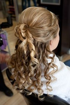 The curls are too fake but on someone with real curls it could be nice