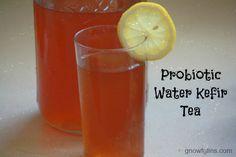 Probiotic Water Kefir Tea - Simple Foody