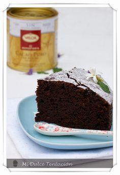 Mi dulce tentación: Bizcocho de Chocolate sin Huevos
