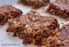 No bake cookies...one of my favs!