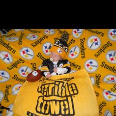 Baby Pittsburgh Steeler-- most adorable thing I've ever seen... Ever!