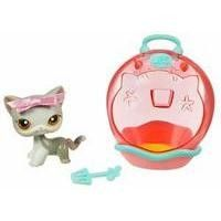 LITTLEST PET SHOP PORTABLE PETS Cat Figure