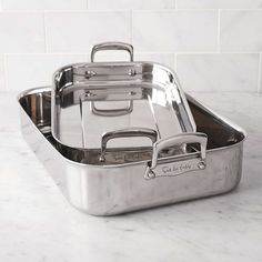 Sur La Table® Tri-Ply Stainless Steel Roasting Pans | Sur La Table