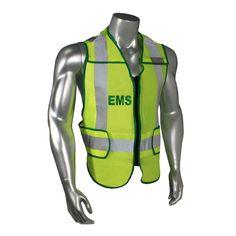 Radians LHV-207DSZR-EMS EMS Safety Vest ANSI CL2