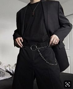 Mode Korean Summer Men Ideen, Source by ideas summer casual Tumblr Outfits, Edgy Outfits, Mode Outfits, Grunge Outfits, Fashion Outfits, Fashion Ideas, Fashion Styles, 90s Grunge, Hipster Outfits