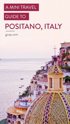 Things to do in Amalfi Coast in Positano, Italy.