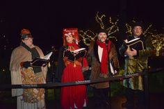 Traditional carollers during the 2015 Light-Up ceremony. Light Colors, Light Up, Victoria, Magic, Actors, Traditional, Costumes, Halloween, Christmas