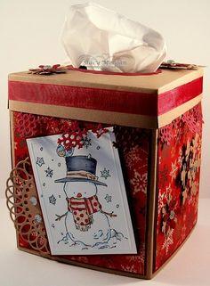 Christmas Decor: Tissue Box Cover