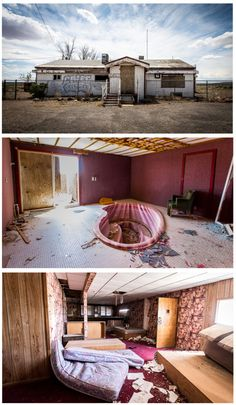 abandoned Cottontail Ranch brothel in Nevada.