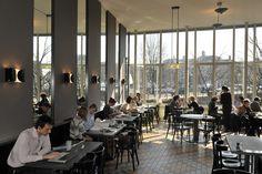Café de jaren zijkant -