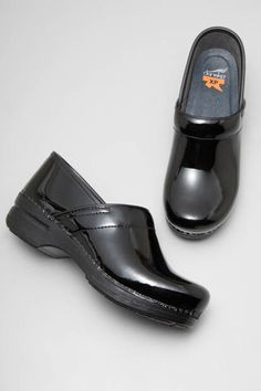 The Dansko Black Patent from the Pro XP collection.