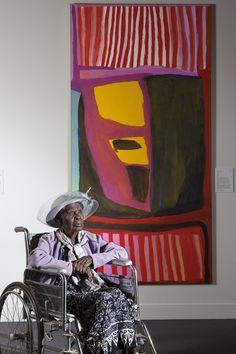 West Australian artist Jukuja Dolly Snell has been awarded Australia's most prestigious Indigenous art prize. | Meet The Winners Of Australia's Most Prestigious Indigenous Art Awards