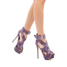 If I ever have a wild night, I want to wear these shoes when it happens.