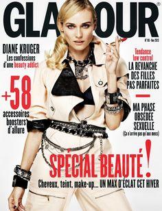 Smartologie: Diane Kruger for Glamour Paris November 2013