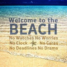 Beach- leave your care out of mind beach beach quotes, beach ve ocean beach. Playa Beach, Ocean Beach, Beach Bum, Summer Beach, Summer 2014, Summer Fun, Summer Loving, Long Beach, Queen Quotes Sassy