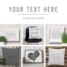The ultimate collection on persanlized gift that carry your own message in style and will surely warm the heart of the recipient day by day! Hand printed with a special vintage look technique that gives the cushions and art prints a distict look and enhance their unique message! By My Home and Yours!