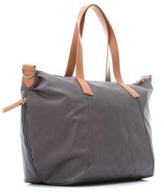 BUY ONLINE: Storksak Noa Canvas Nappy Bag in Grey on sale +FREE delivery Australia wide