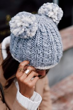 VivaLuxury - Fashion Blog by Annabelle Fleur: PASTELS & POM POMs