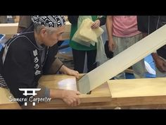 Samurai's First Time In Japan! Kezuroukai Planing Competition! - YouTube