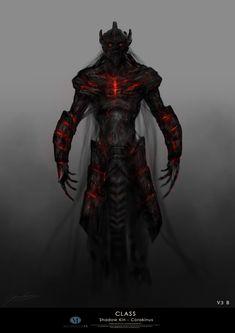 ArtStation - Corakinus - King of the ShadowKin, Christopher Goodman