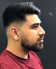 Top 25 Best Gentleman Haircut Styles Dapper Long on Top + Short Sides Side Part Pompadour, Pompadour Style, Kinds Of Haircut, Haircut Styles, Long Slicked Back Hair, Classic Mens Haircut, Short Comb Over, Gentleman Haircut, Low Skin Fade
