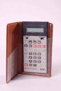 """DDR Museum - Museum: Objektdatenbank - Taschenrechner """"SR1""""    Copyright: DDR Museum, Berlin. Eine kommerzielle Nutzung des Bildes ist nicht erlaubt, but feel free to repin it!"""