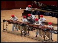 Marimba Ponies- From Spring omg the kid on the far right is so young!