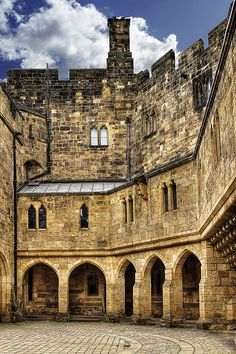 Alnwick Castle, England....I *love* old castles. They speak to me and Alnwick spoke volumes. Loved it there.