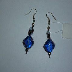 Boucles-d'oreilles perle artisanale ref d 280