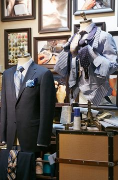 Harry Rosen made to measure area
