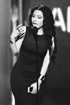 Nicki Minaj at the BET Awards.