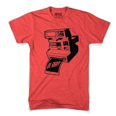 OH SNAP! Camera Tee Red by Drive by Pres