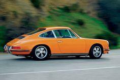 1971 Porsche 911 Signal Orange