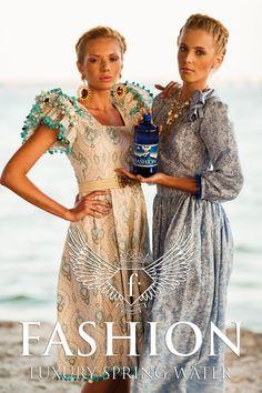 Campania Fashion Luxury Spring Water realizata de Fashiontv Romania - galerie foto Spring Water, Cover Up, Luxury, Beach, Dresses, Fashion, Vestidos, Moda, Mineral Water